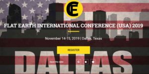 Dallas Flat Earth Conference, NOV 14-15, 2019 @ Frisco Embassy Suites