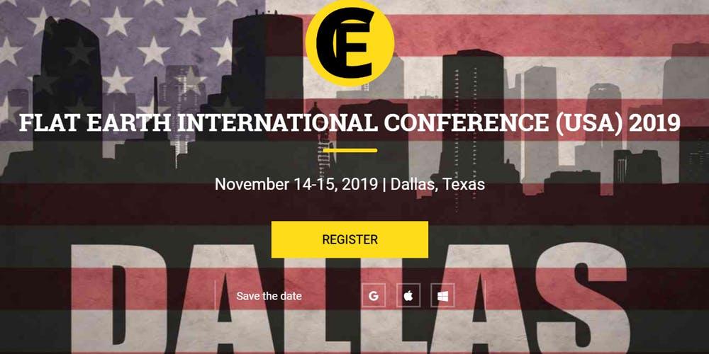 Flat Earth Conference, 2019, Dallas, TX, FlatEvents
