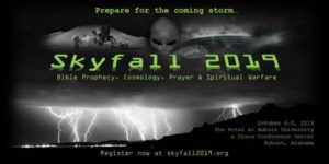 Skyfall Conference 2019 Oct 4-5 2019 In Alabama USA @ The Hotel at Auburn University