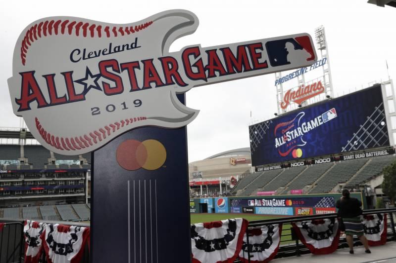 MLB All Star Game Cleveland OH 9JUL19 Flatsmacking